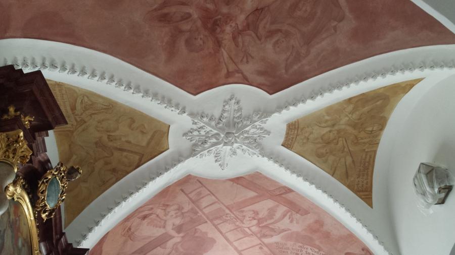 martin r lauber fresken decken wandbilder. Black Bedroom Furniture Sets. Home Design Ideas